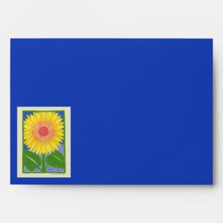Sunny Sunflower Envelope