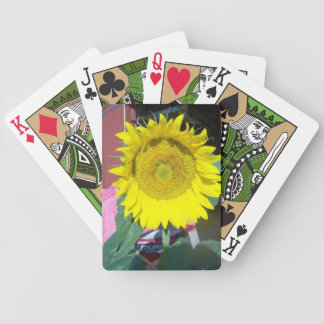 Sunny Sunflower playing cards