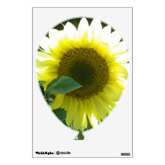 Sunny Sunflower Wall Decal