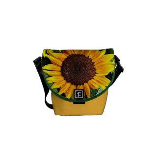 Sunny Sunflowers Mini Messenger Bag