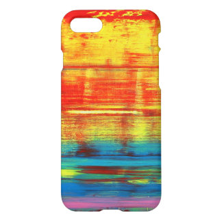 Sunny Sunset Colorful Abstract Art iPhone 8/7 Case