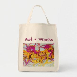 Sunny Swirls Art Works Bag