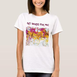 Sunny Swirls Art Works T-Shirt