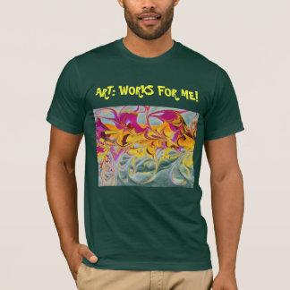 Sunny Swirls T-Shirt for dark colors