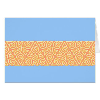 Sunny Triangle Knot Band Card