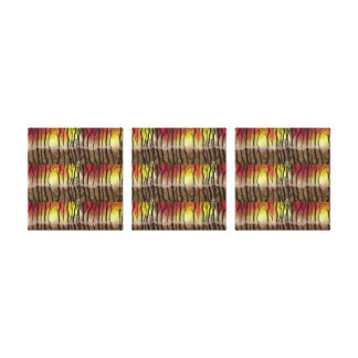 sunny triptych canvas print