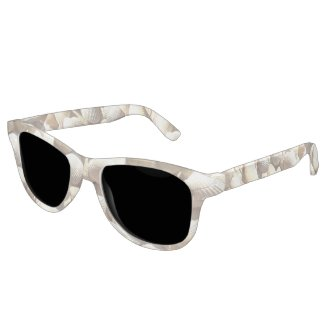 Sunny Tropical Exotic Summer Beach Sea Shells Eyewear
