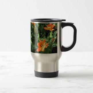 Sunny Tulips Travel Mug