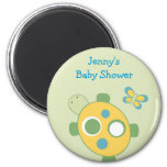 Sunny Turtle Baby Shower Party Favor Magnets