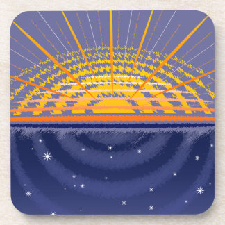Sunny Universe | Customizable Beverage Coaster