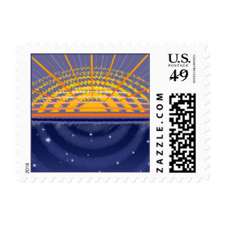 Sunny Universe   Customizable Stamps