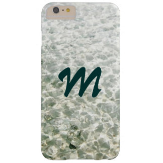 Sunny Water Monogrammed Barely There iPhone 6 Plus Case