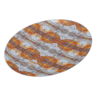 Sunny Water Stripes Plate