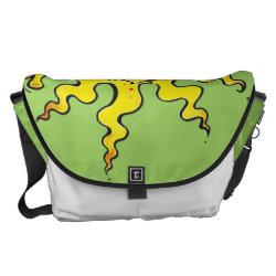 sunny wave messenger bag