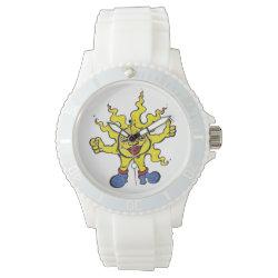 sunny wave wristwatch