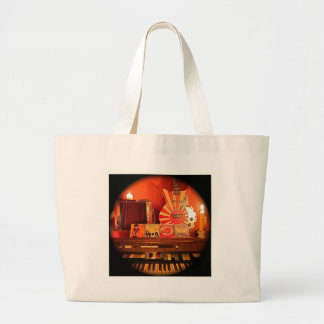Sunny Weather Large Tote Bag