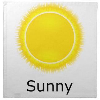 Sunny Weather Napkin