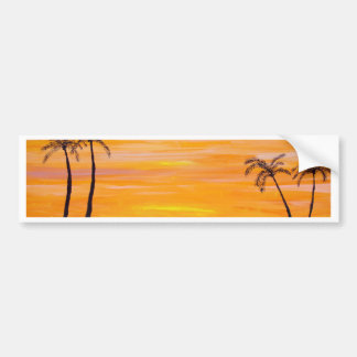 Sunny Weekend Bumper Sticker