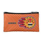 Hand shaped Sunny Weekend Makeup Bag