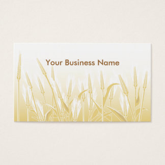 Sunny Wheat Field Business Card
