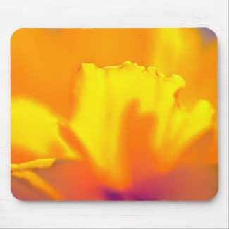 Sunny wildflower mousepad