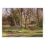 Sunny Winter Afternoon Greeting Card