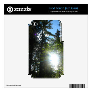 Sunny Woods Skin For iPod Touch 4G