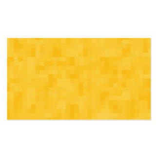 Sunny Yellow Abstract Design. Business Card Template