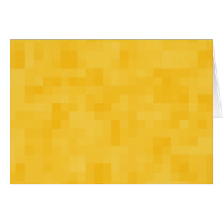 Sunny Yellow Abstract Design. Card