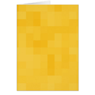 Sunny Yellow Abstract Design. Greeting Card