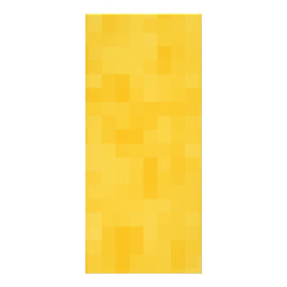 Sunny Yellow Abstract Design. Rack Cards