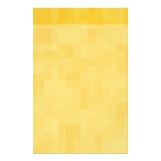 Sunny Yellow Abstract Design. Stationery