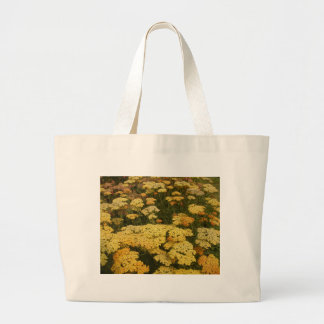Sunny Yellow Achillea Flower Unique Gifts Large Tote Bag