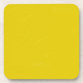 Sunny Yellow Beverage Coaster