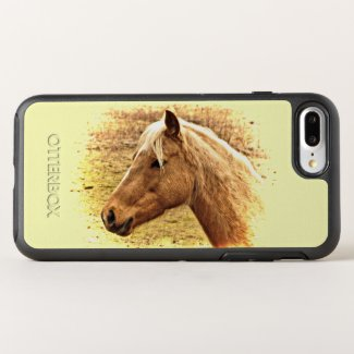 Sunny Yellow Brown Horse