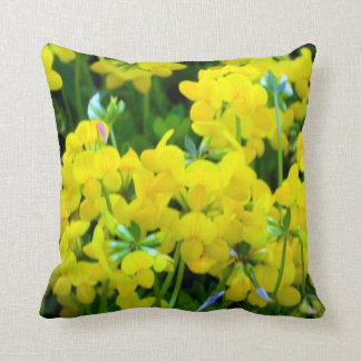Sunny Yellow Buttercup Pillows