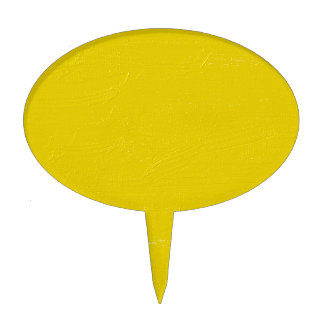 Sunny Yellow Cake Topper
