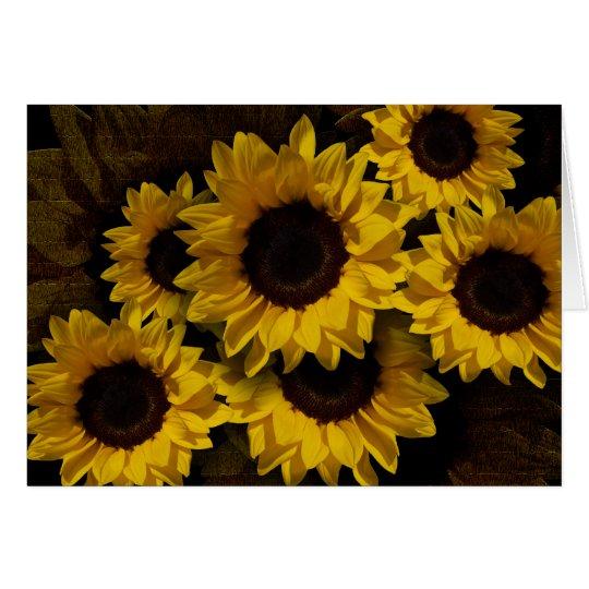 Sunny Yellow Card