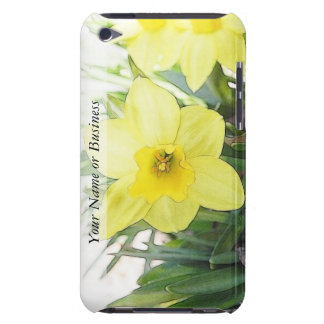 Sunny Yellow Daffodil iPod Touch Cases