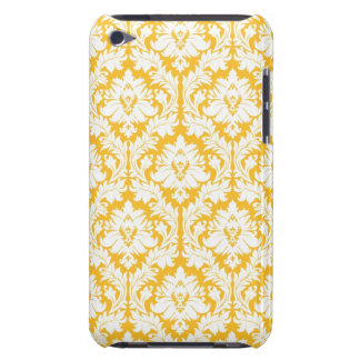 Sunny Yellow Damask Case-Mate iPod Touch Case