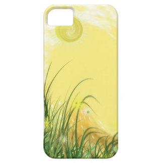 Sunny Yellow Fantasy background iPhone 5 Case