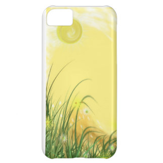 Sunny Yellow Fantasy background Cover For iPhone 5C
