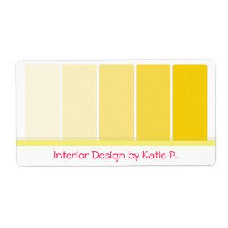 paint sample cards | zazzle