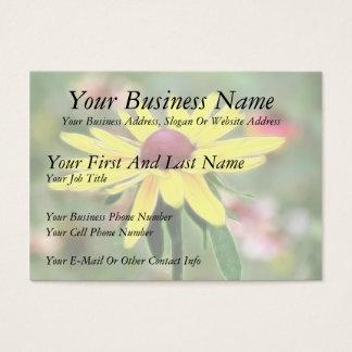 Sunny Yellow Rudbeckia Business Card