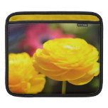 Sunny Yellow Spring Flowers Sleeve For iPads