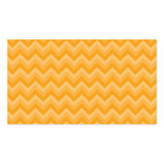 Sunny Yellow Zig Zag Pattern. Business Cards