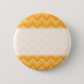 Sunny Yellow Zig Zag Pattern. Button
