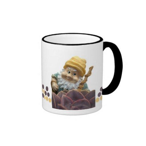 Sunnyboy el gnomo del jardín taza de café