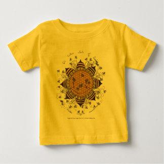 Sunnycomb - la enredadera del niño (amarillo) camisetas