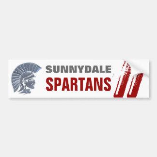 Sunnydale Spartans Bumper Sticker